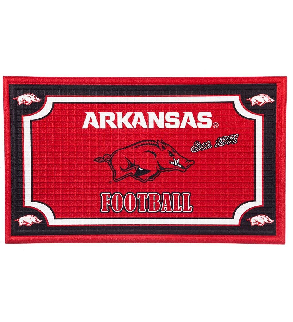 Arkansas Razorbacks Embossed Floor Mat