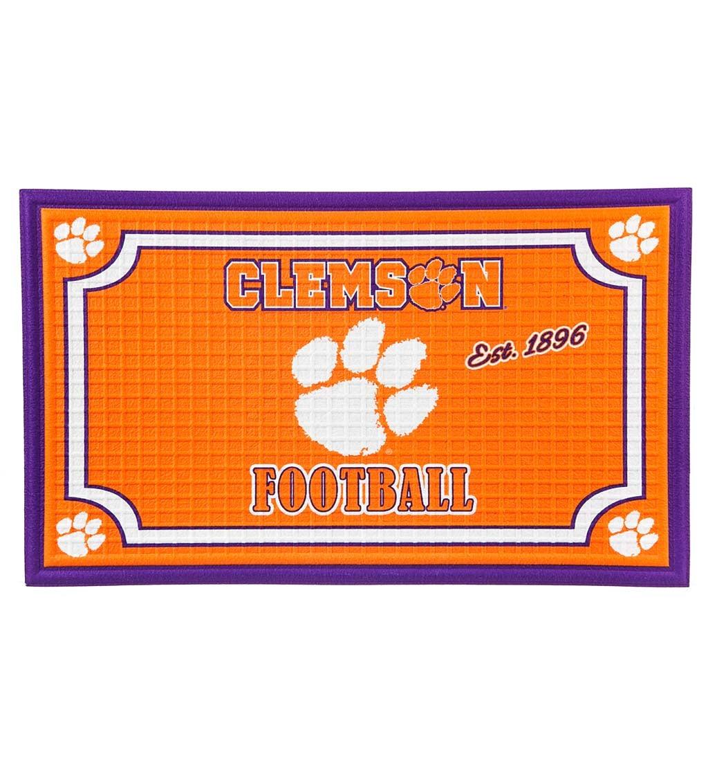 Clemson Tigers Embossed Floor Mat