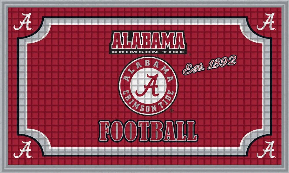 Alabama Crimson Tide Embossed Floor Mat