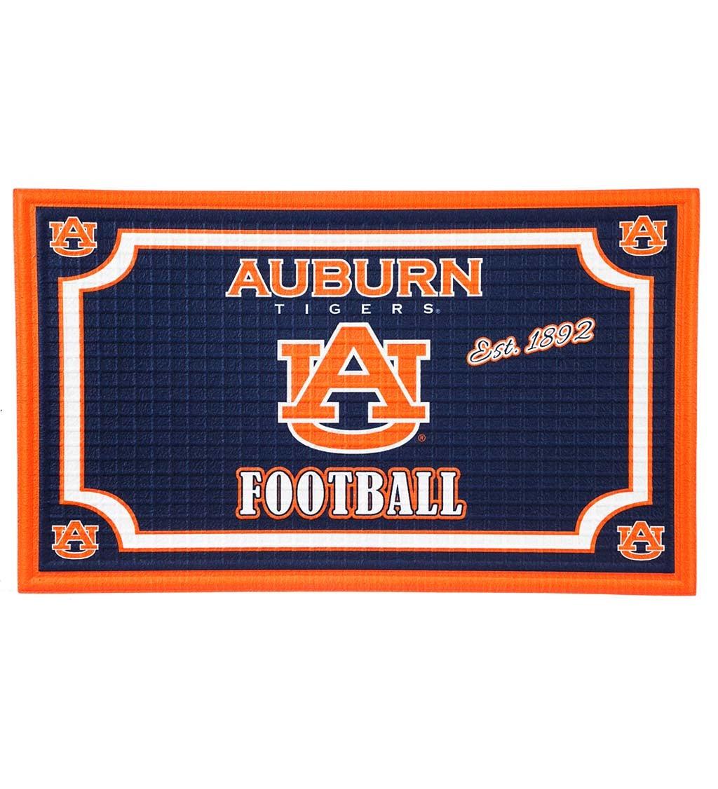 Auburn Tigers Embossed Floor Mat