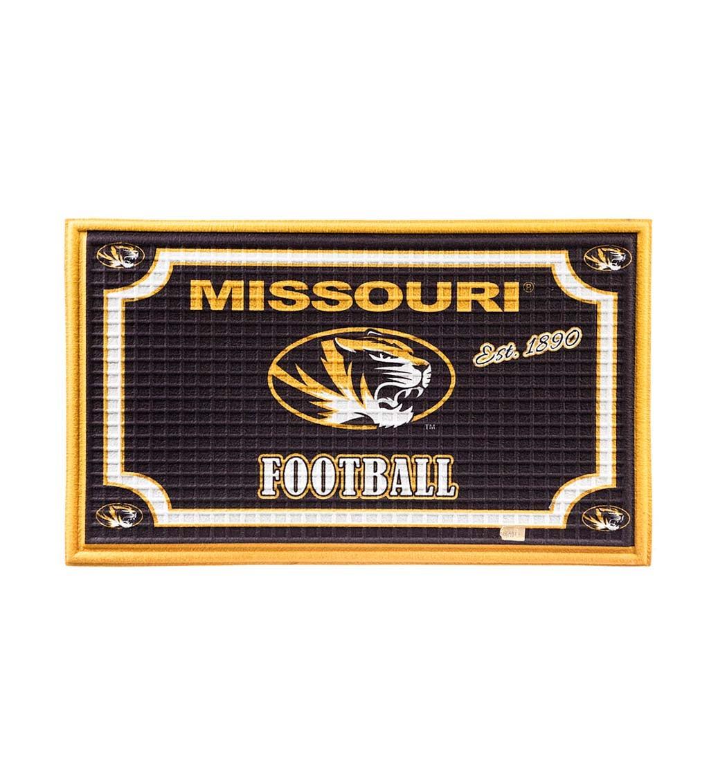Missouri Tigers Embossed Floor Mat