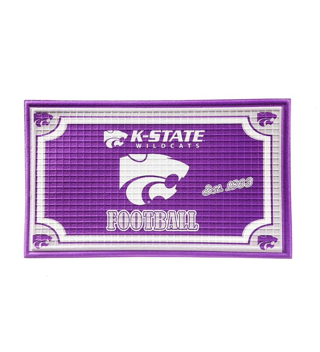 Kansas State Wildcats Embossed Floor Mat