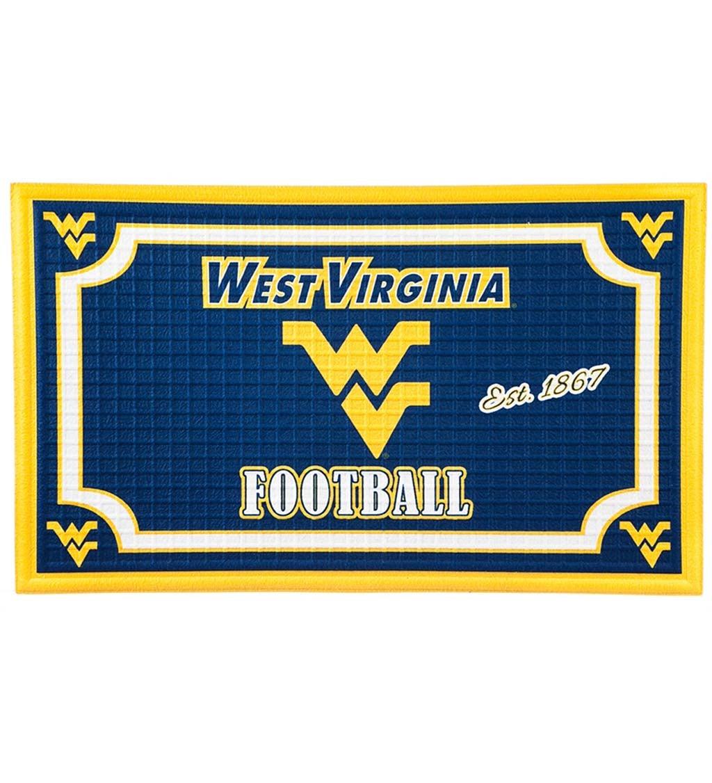 Embossed Door Mat-West Virginia