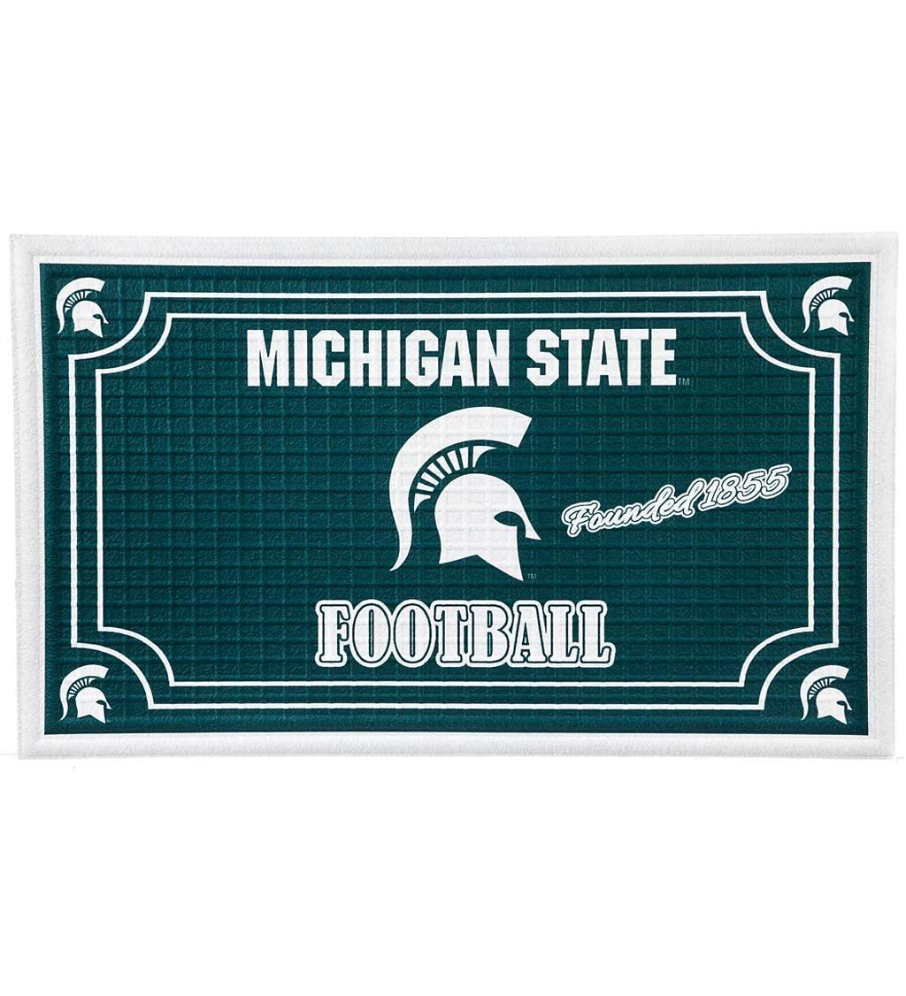 Michigan State Spartans Embossed Floor Mat