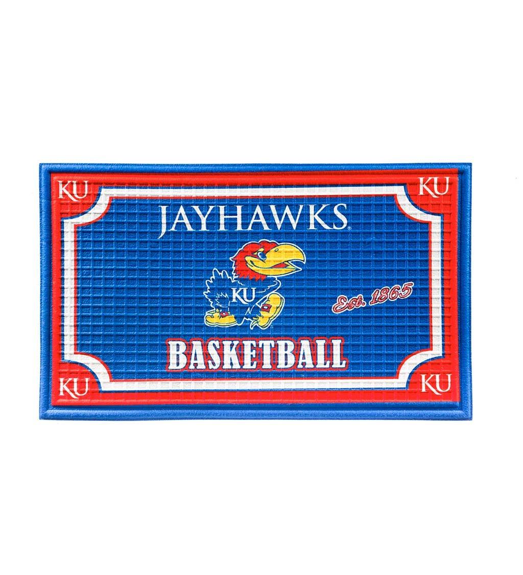 Kansas Jayhawks Embossed Floor Mat