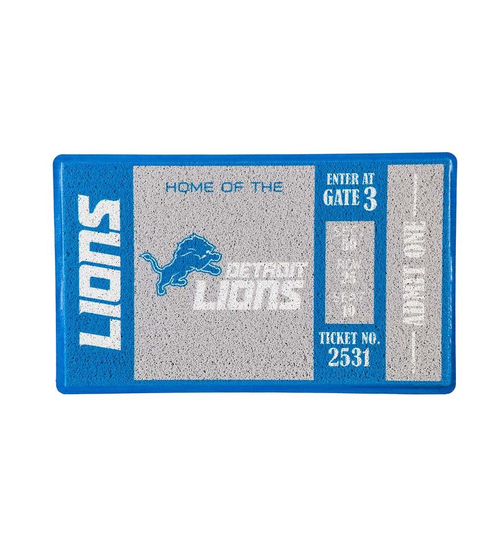 Detroit Lions Turf Trapper Mat