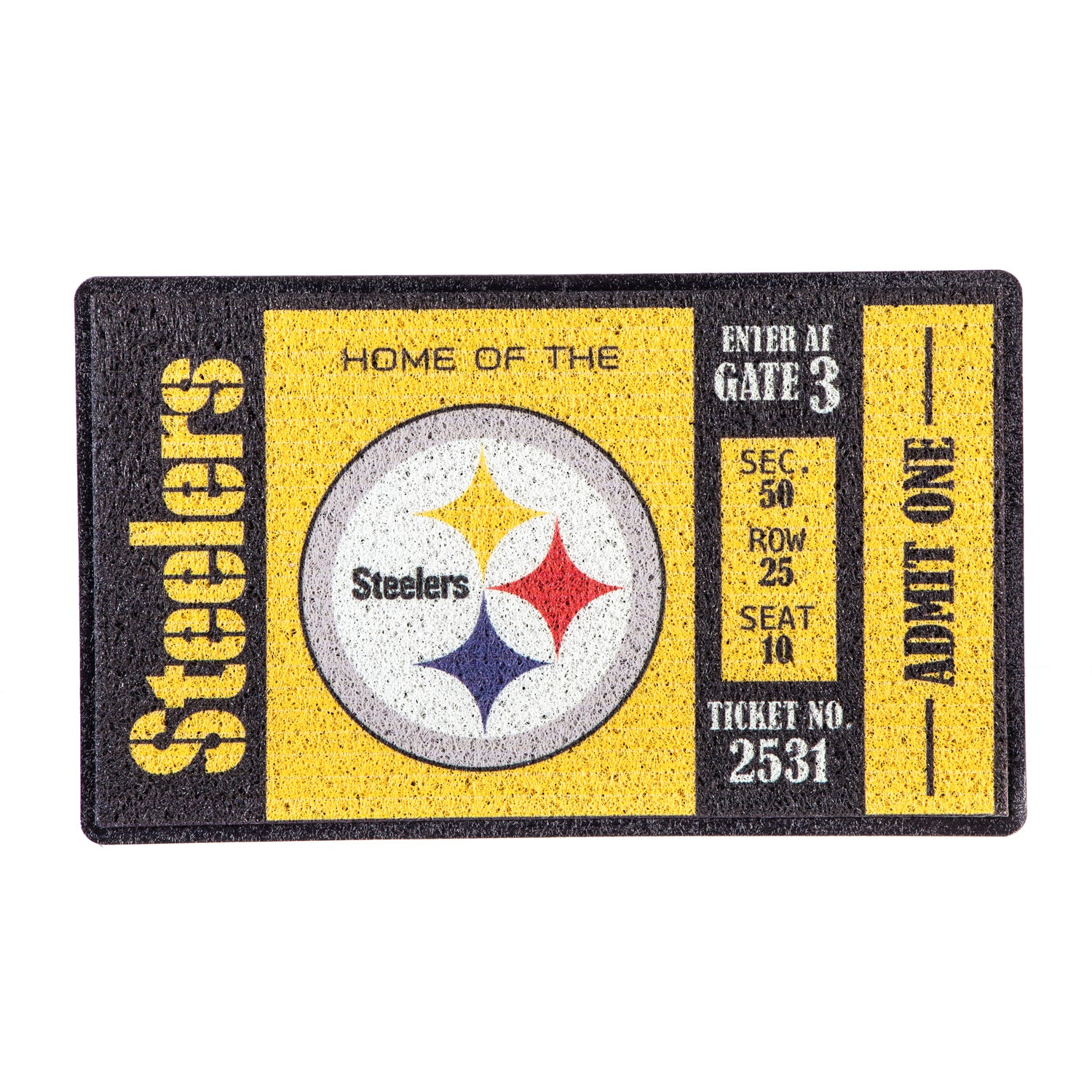 Pittsburgh Steelers Turf Trapper Mat
