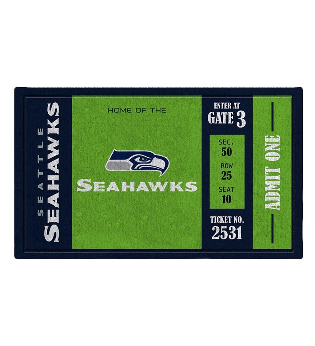 Seattle Seahawks Turf Trapper Mat