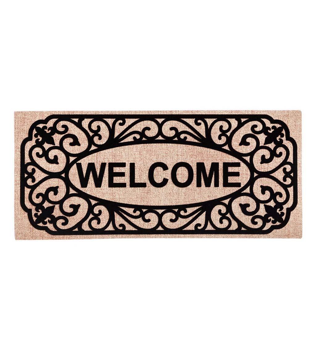 Filigree Welcome Sassafras Switch Mat