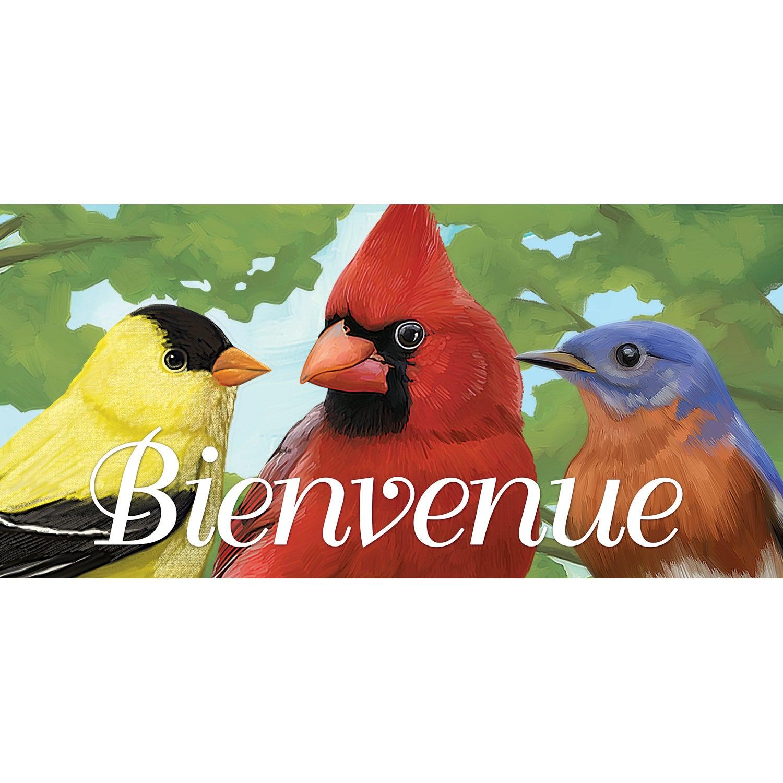 Bienvenue Bird Trio Sassafras Switch Mat