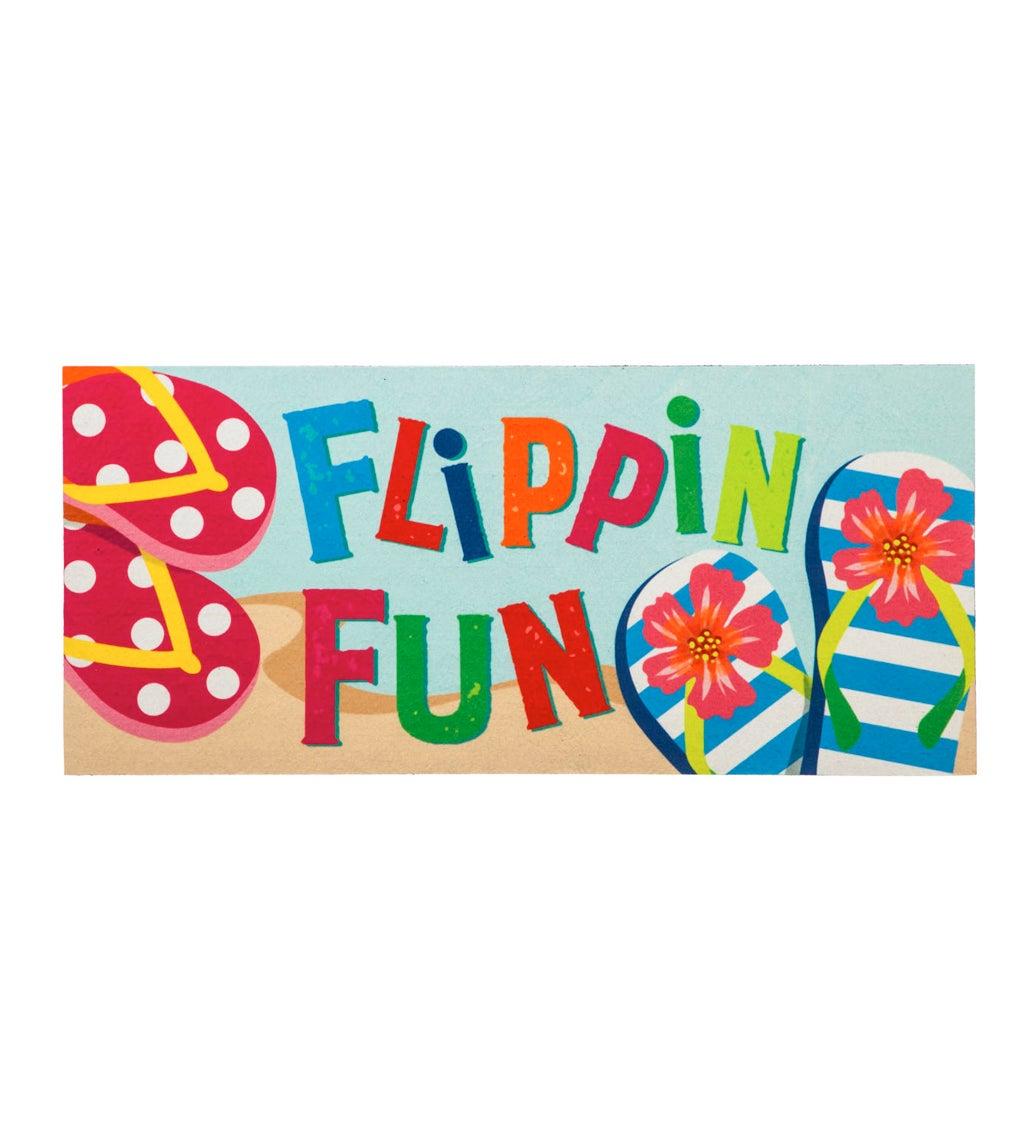 Flippin Fun Flip Flops Sassafras Switch Mat