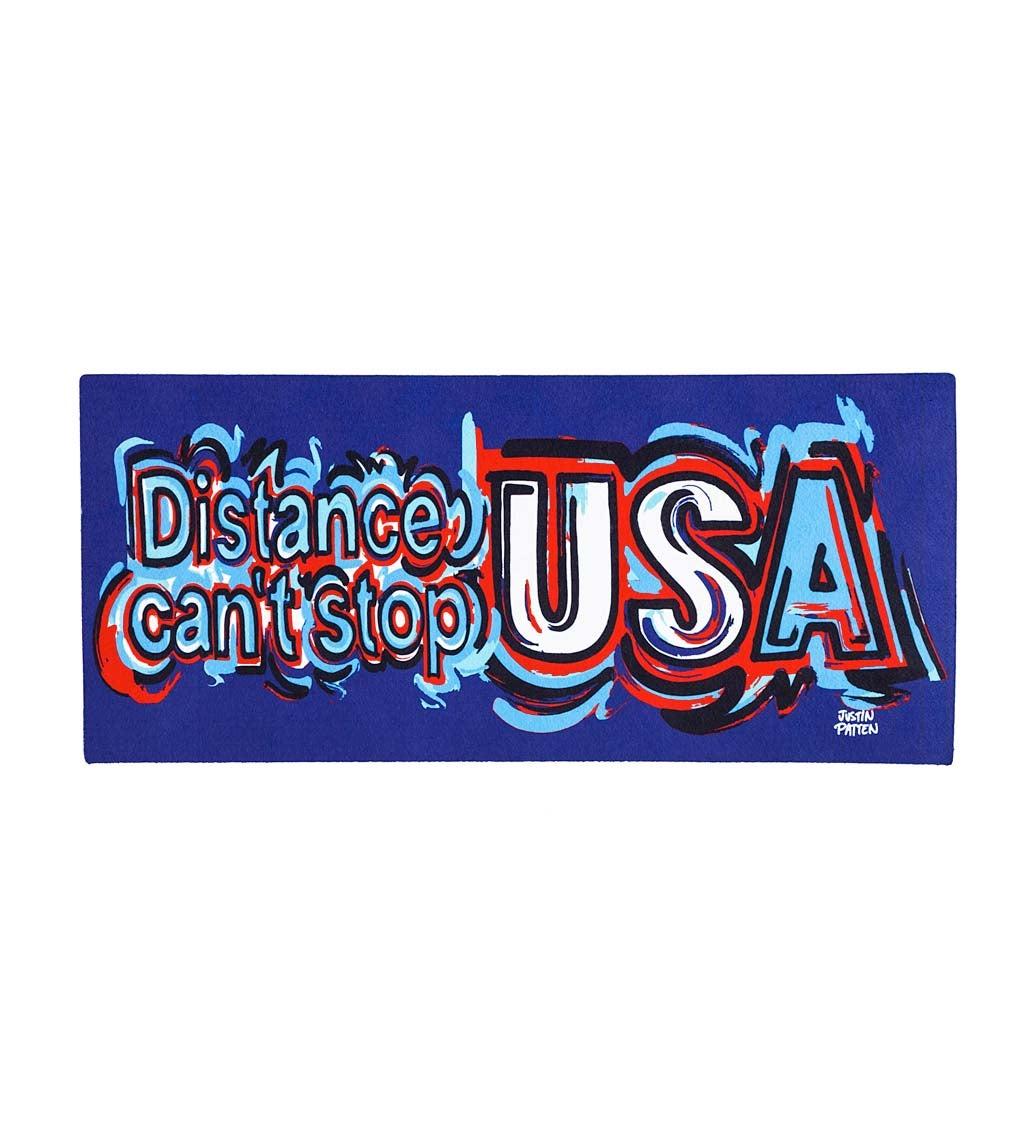 Distance Can't Stop the USA Sassafras Switch Mat