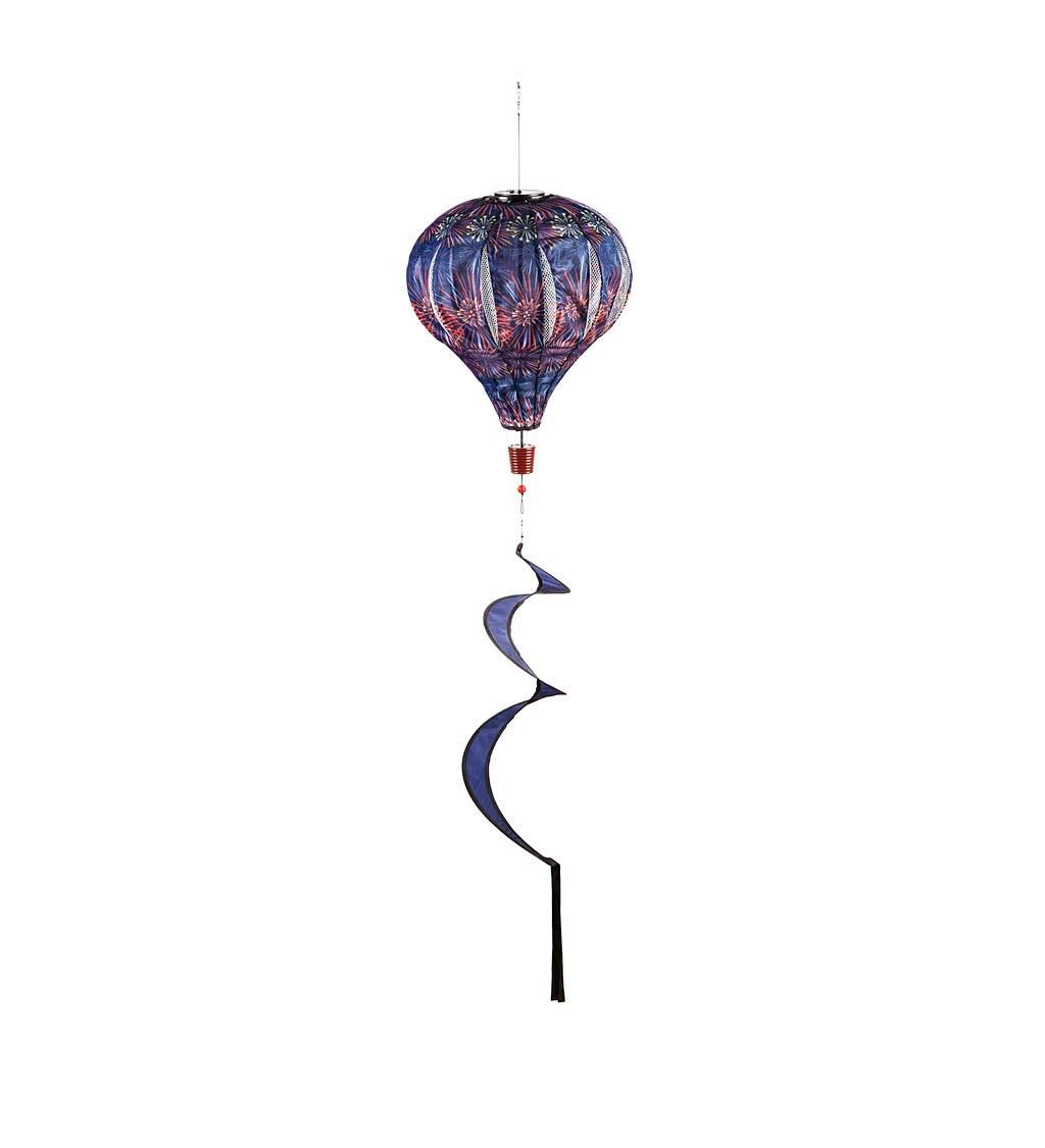 Fireworks Solar Balloon Spinner