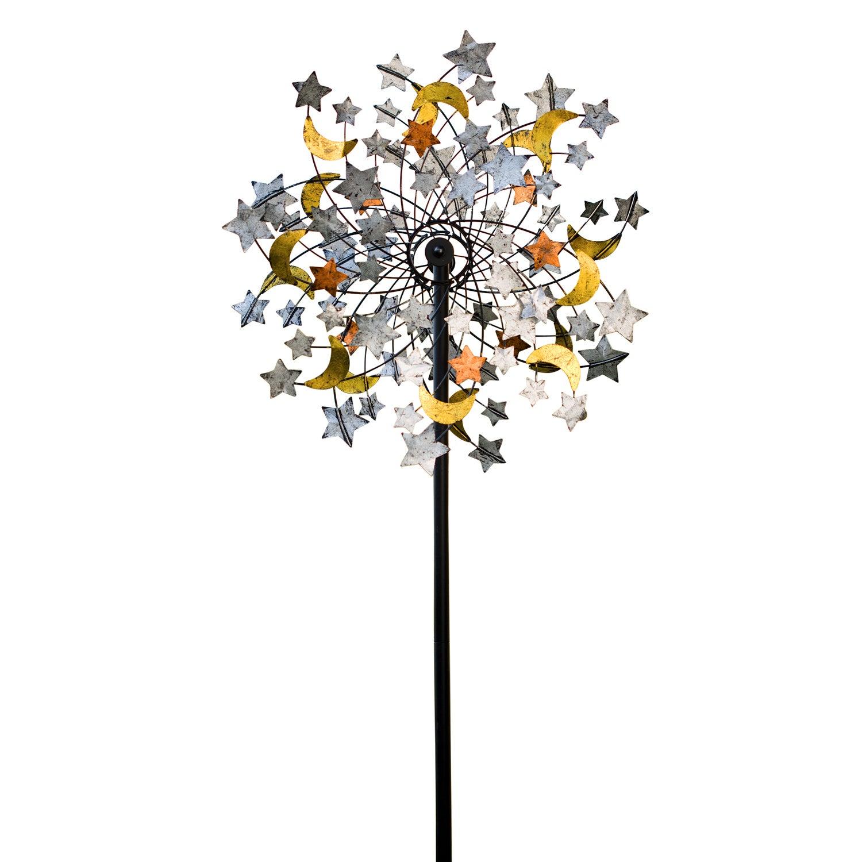 Celestial Confetti Garden Wind Spinner