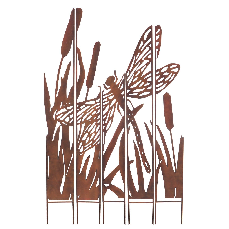 Dragonfly Laser Cut Yard Sign