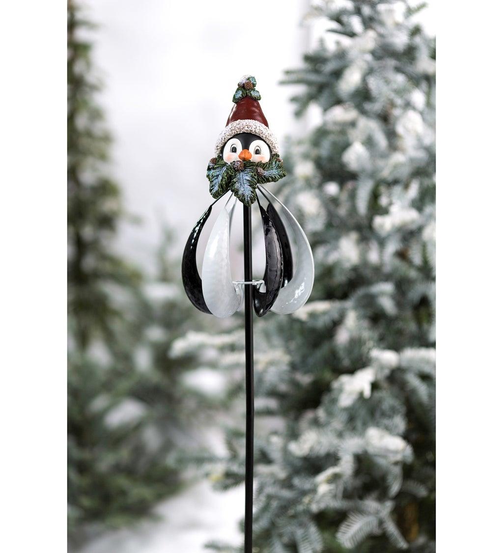 """50""""H Penguin Wind Spinner"""