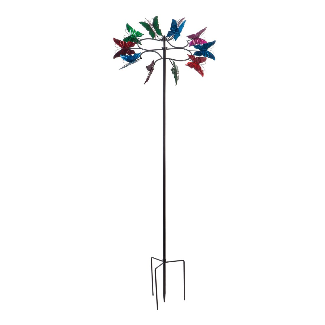 """78""""H Butterfly Wind Spinner"""