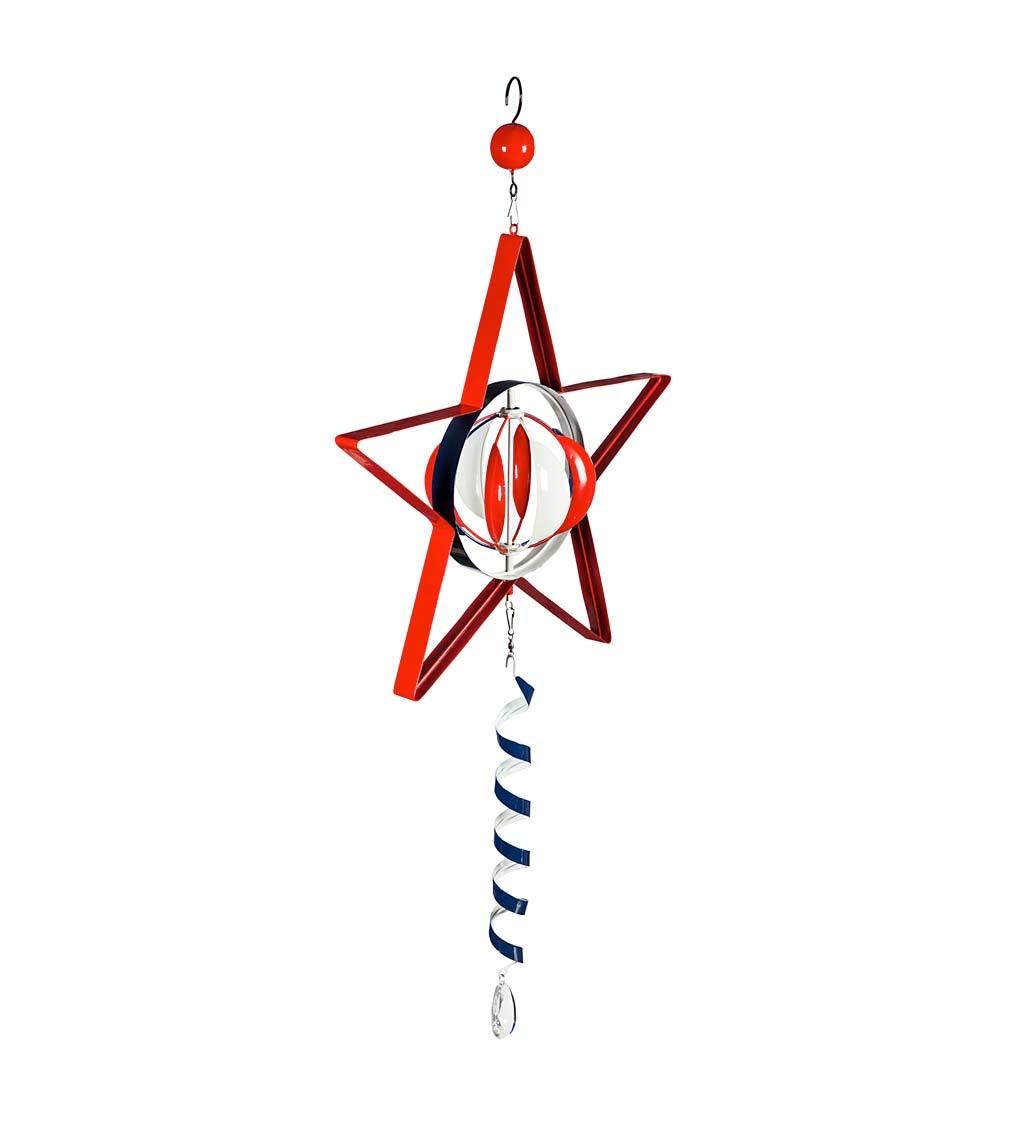 Americana Star Hanging Wind Twirler