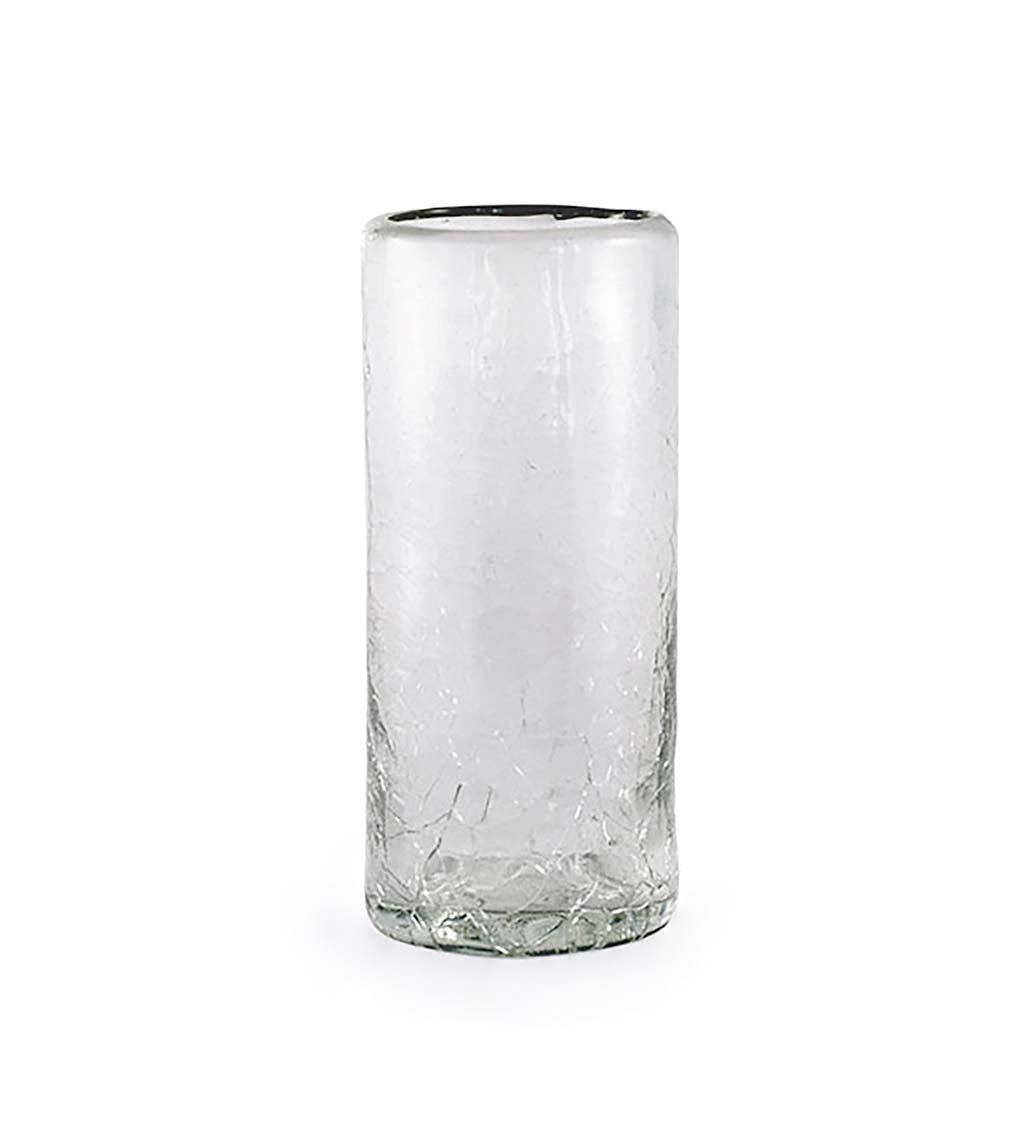Maya Clear Recycled Glass Shot Glass