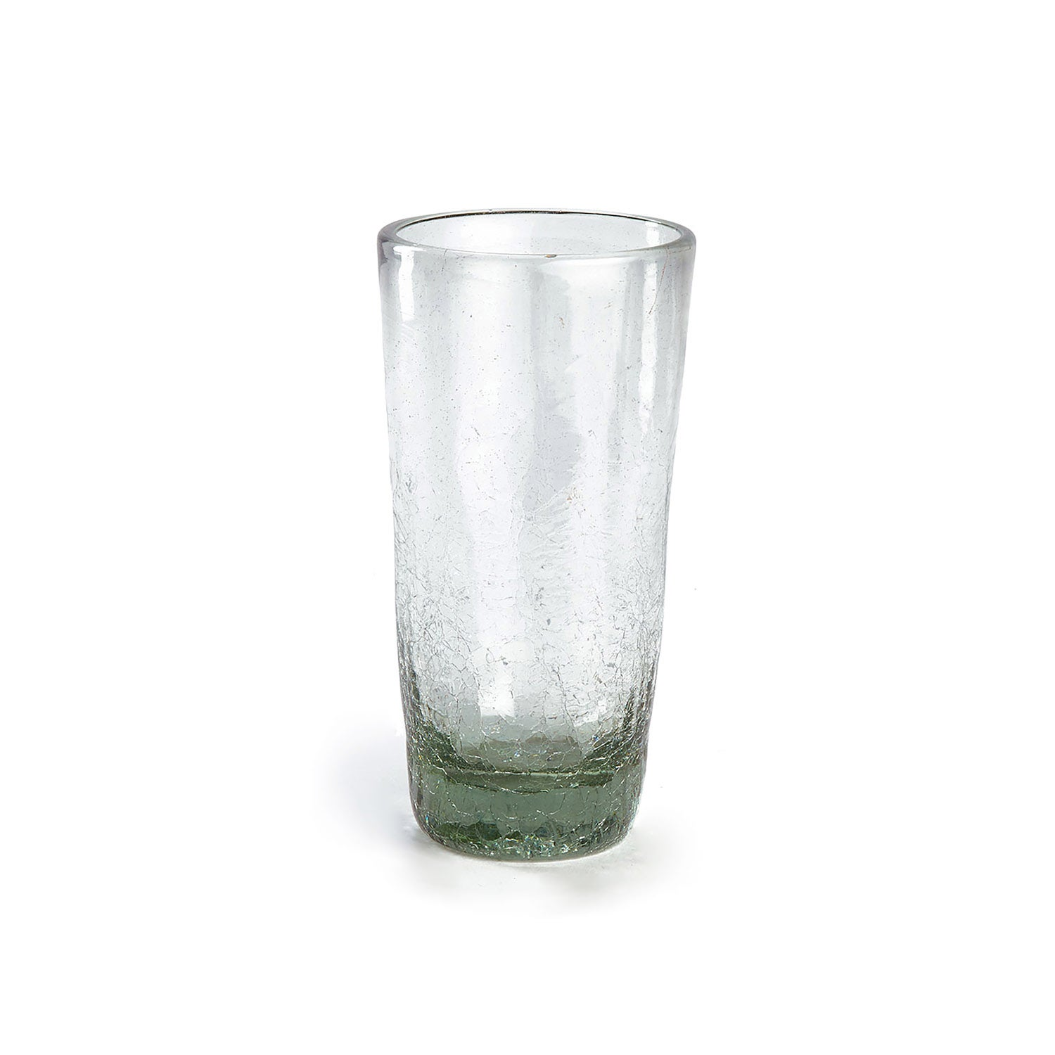 Maya Clear Recycled Glass Tapered Vase