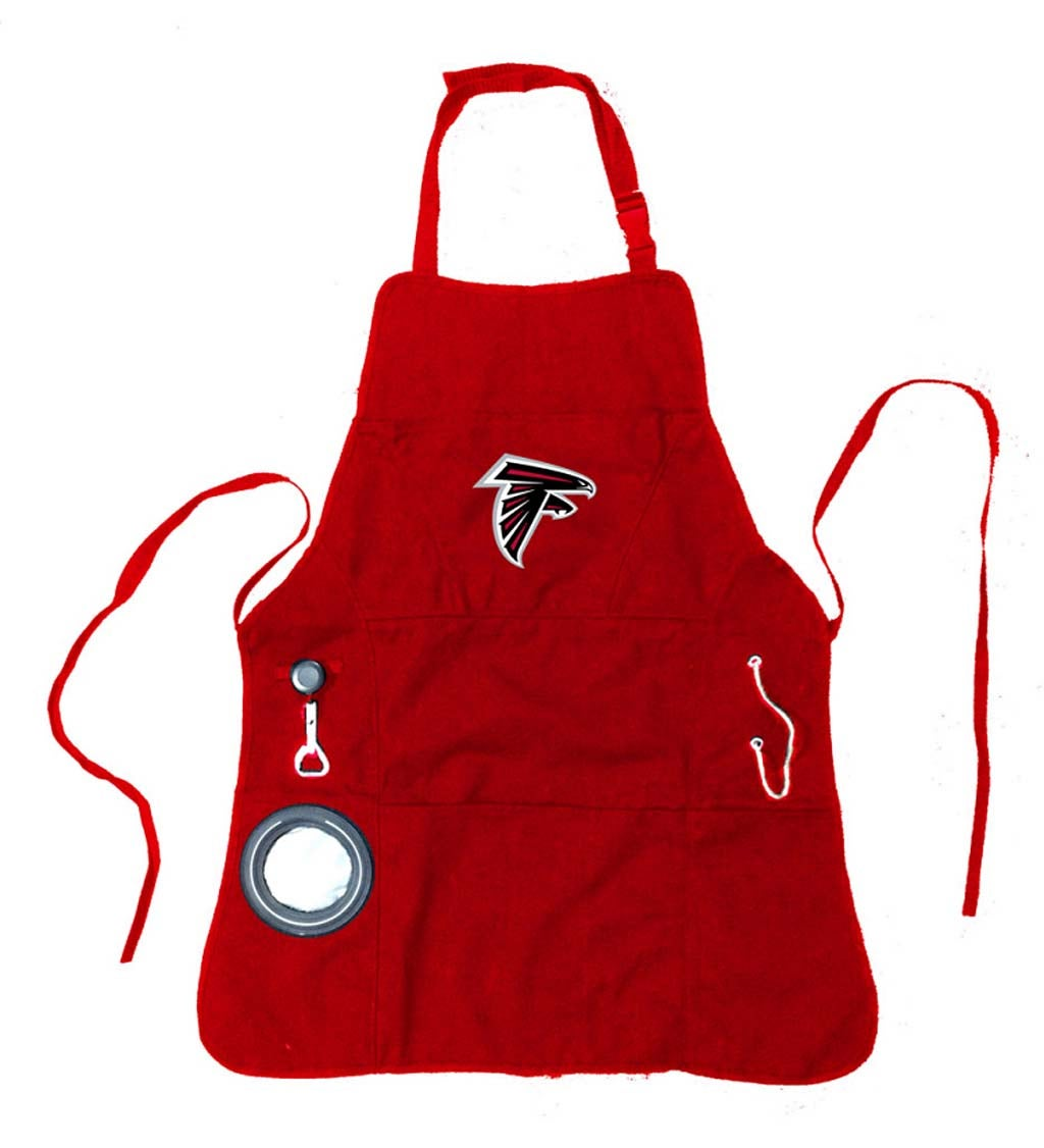 Atlanta Falcons Logo Grilling Utility Apron