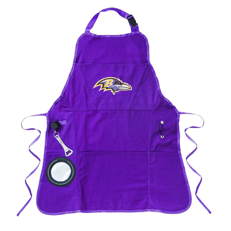 Baltimore Ravens Logo Grilling Apron