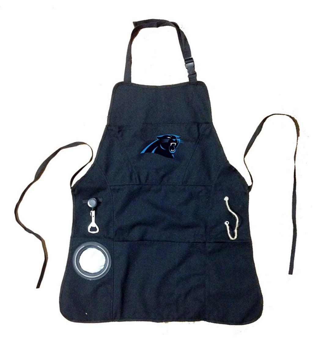 Carolina Panthers Logo Grilling Utility Apron