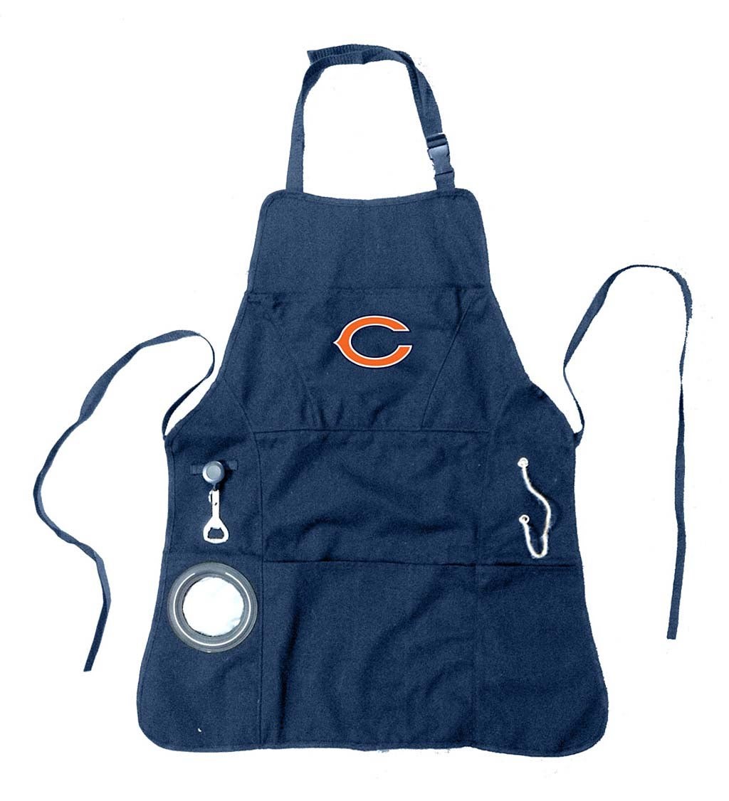 Chicago Bears Logo Grilling Apron