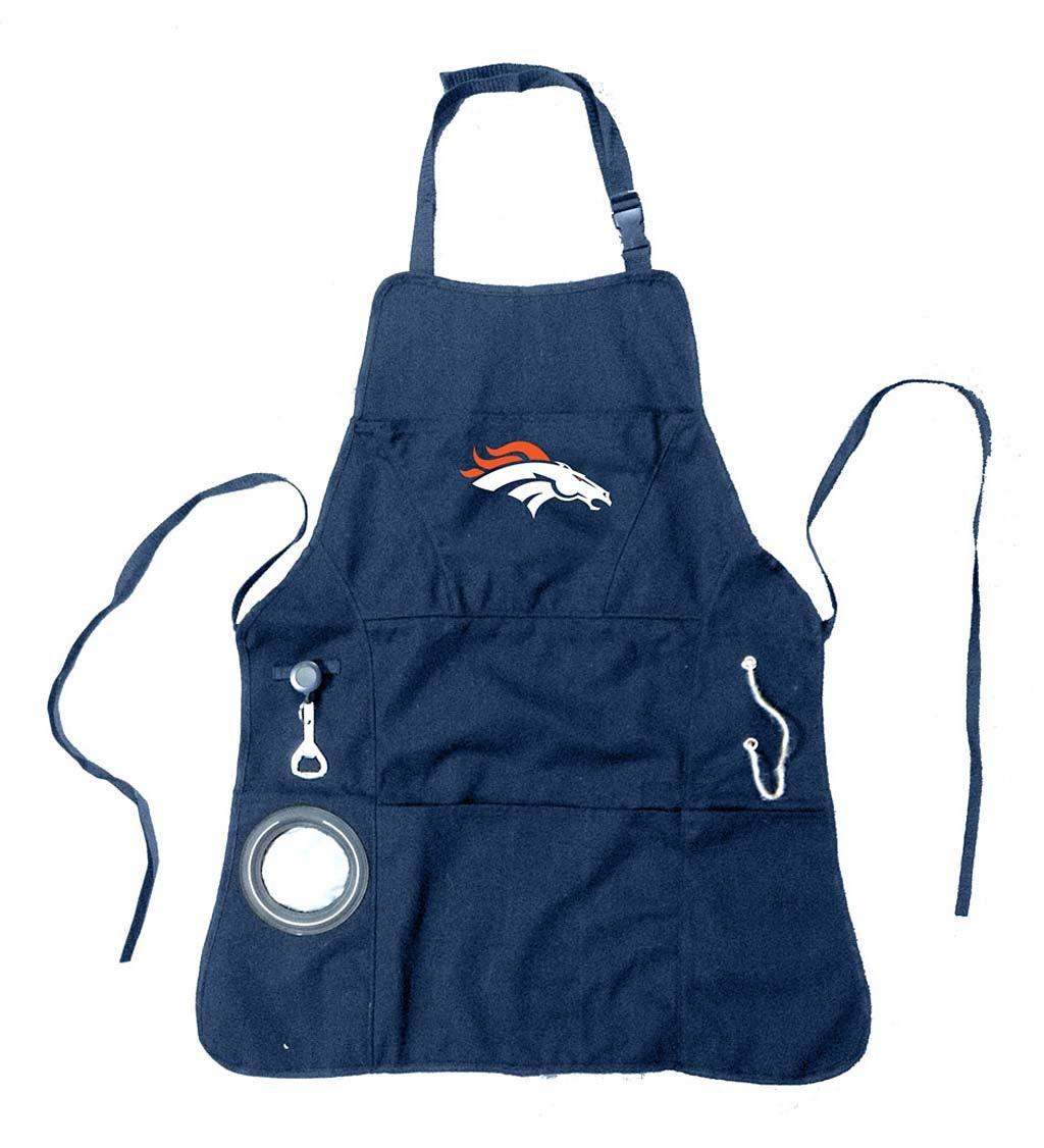 Denver Broncos Logo Grilling Apron