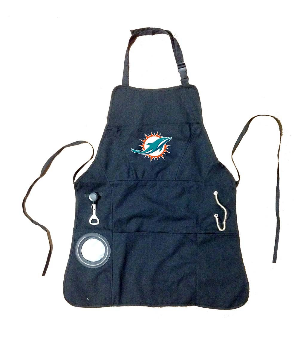 Miami Dolphins Grilling Apron