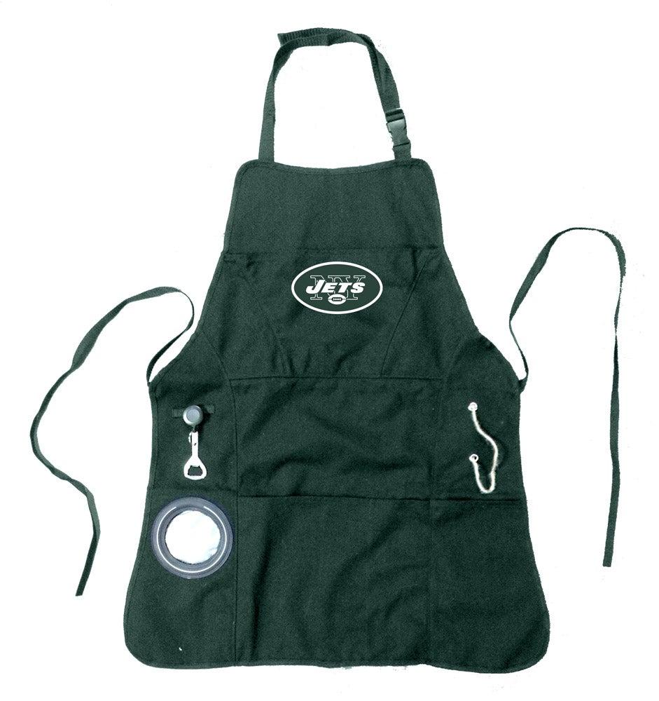 New York Jets Logo Grilling Apron