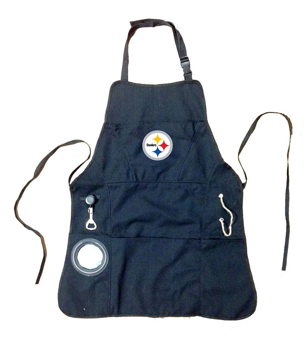 Pittsburgh Steelers Logo Grilling Apron