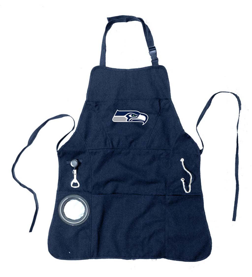 Seattle Seahawks Logo Grilling Apron