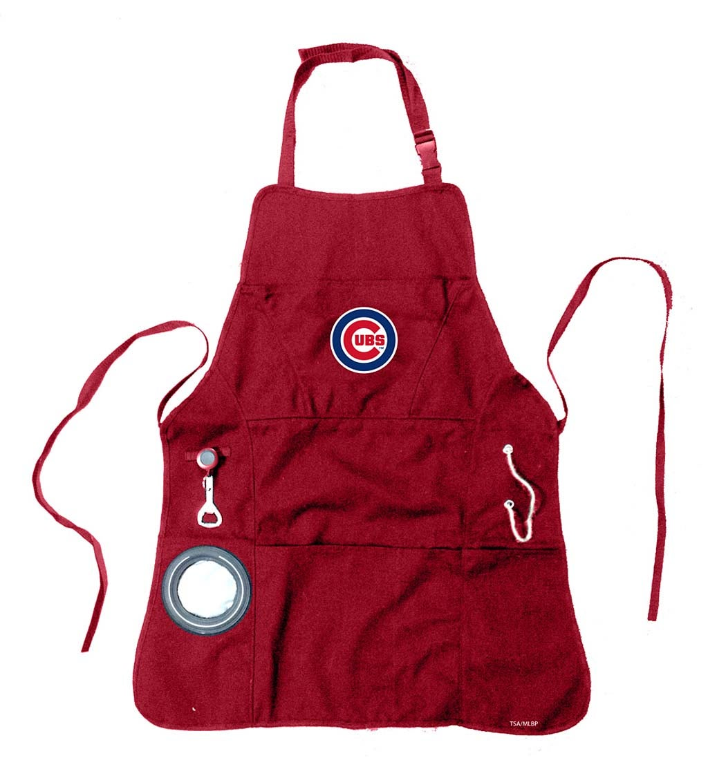 Team Sports America Chicago Cubs Men's Grilling Apron