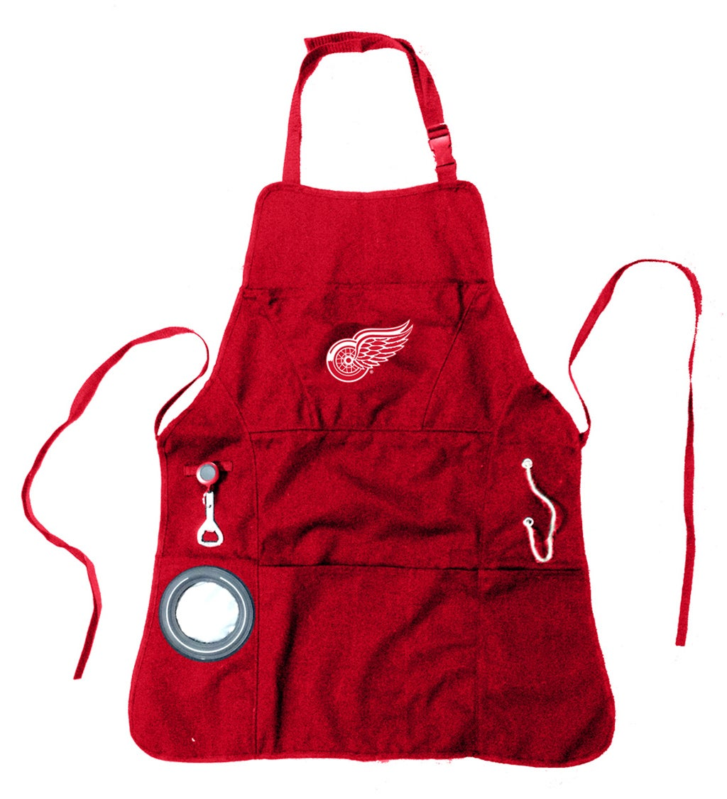 Detroit Red Wings Grilling Apron