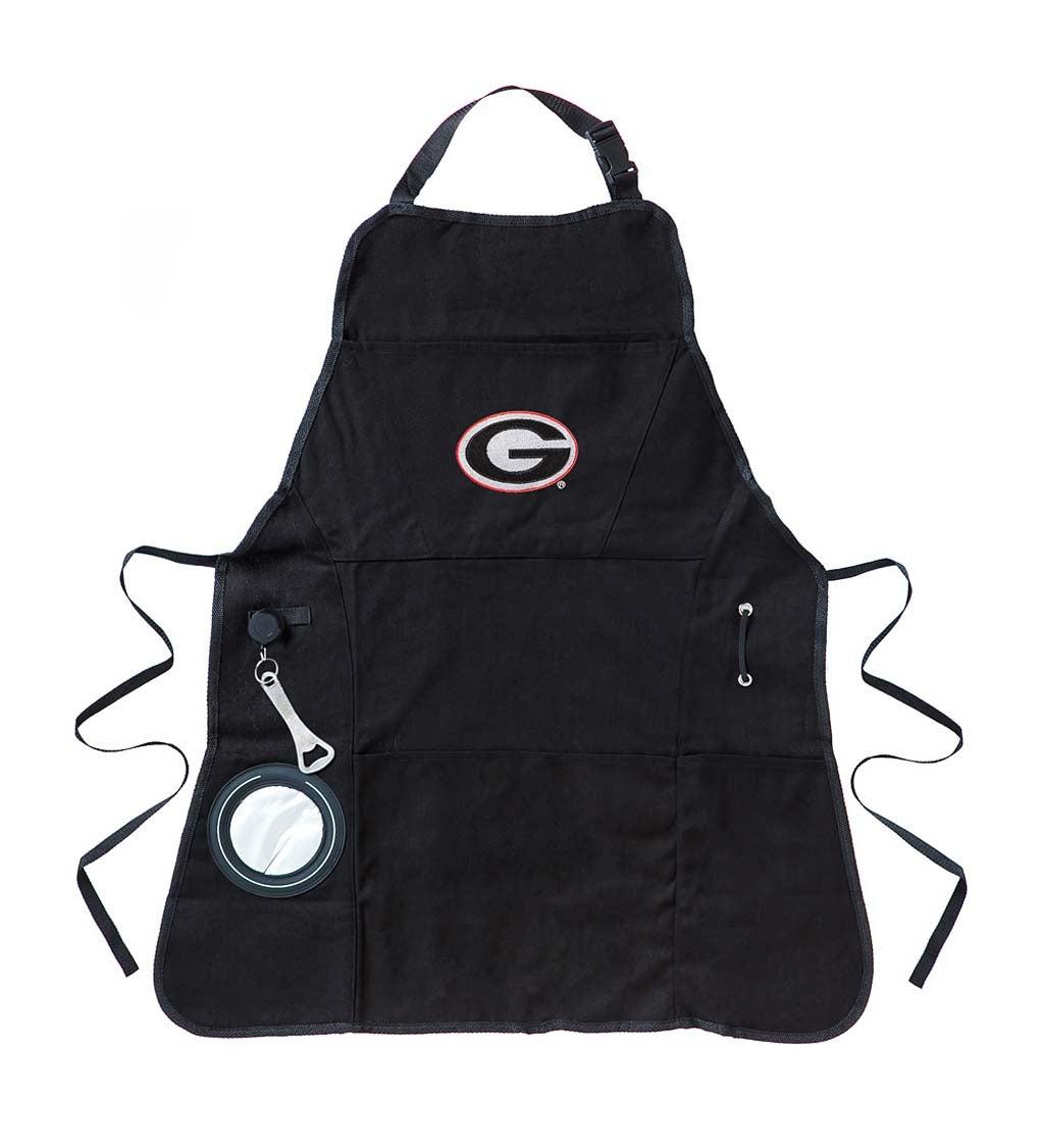 University of Georgia Bulldogs Logo Grilling Utility Apron