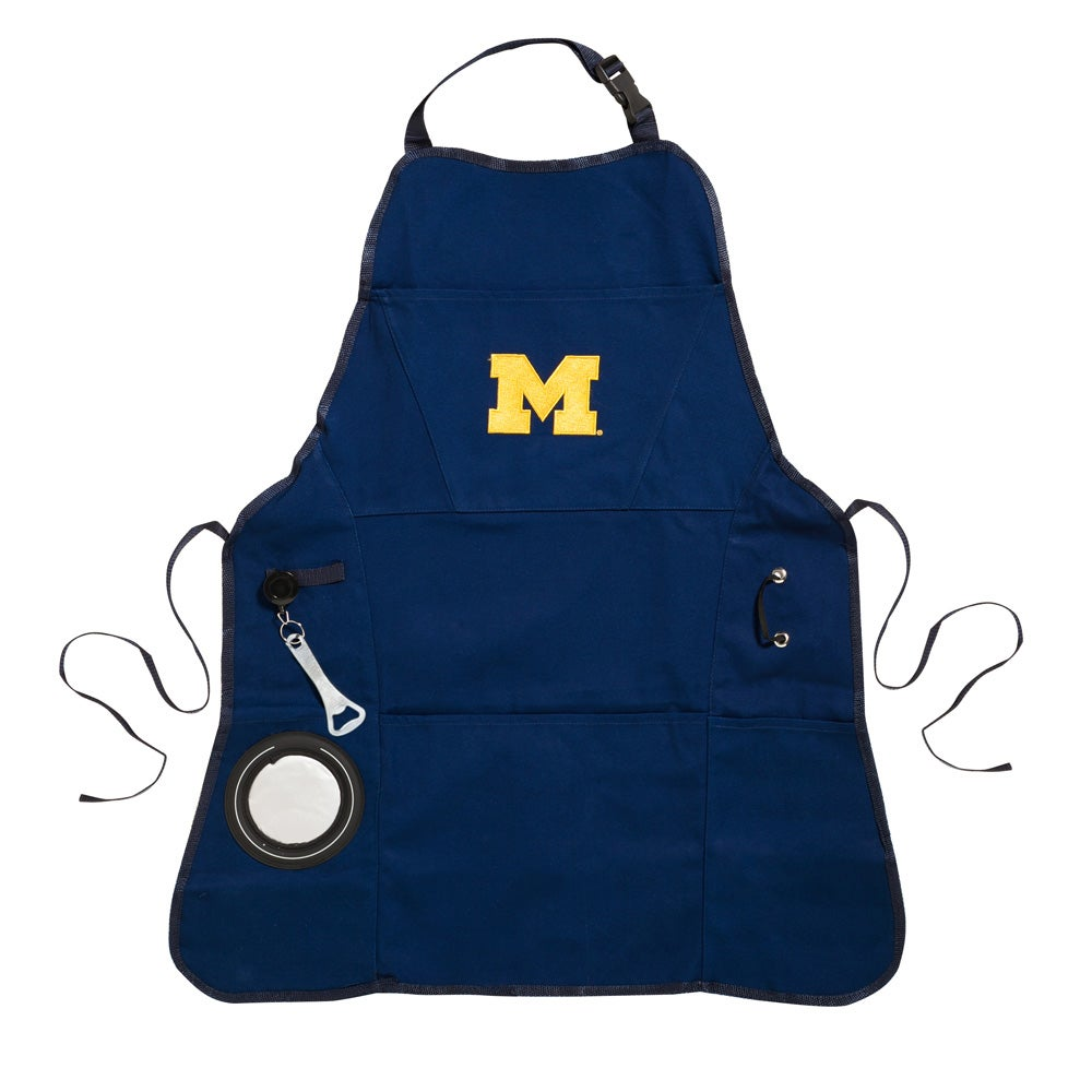 University of Michigan Wolverines Logo Grilling Utility Apron