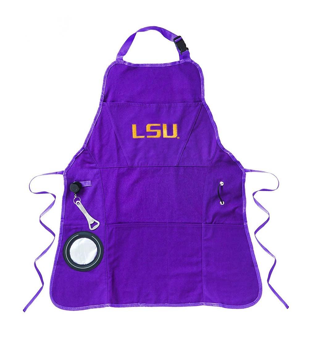 Louisiana State University Tigers Logo Grilling Utility Apron