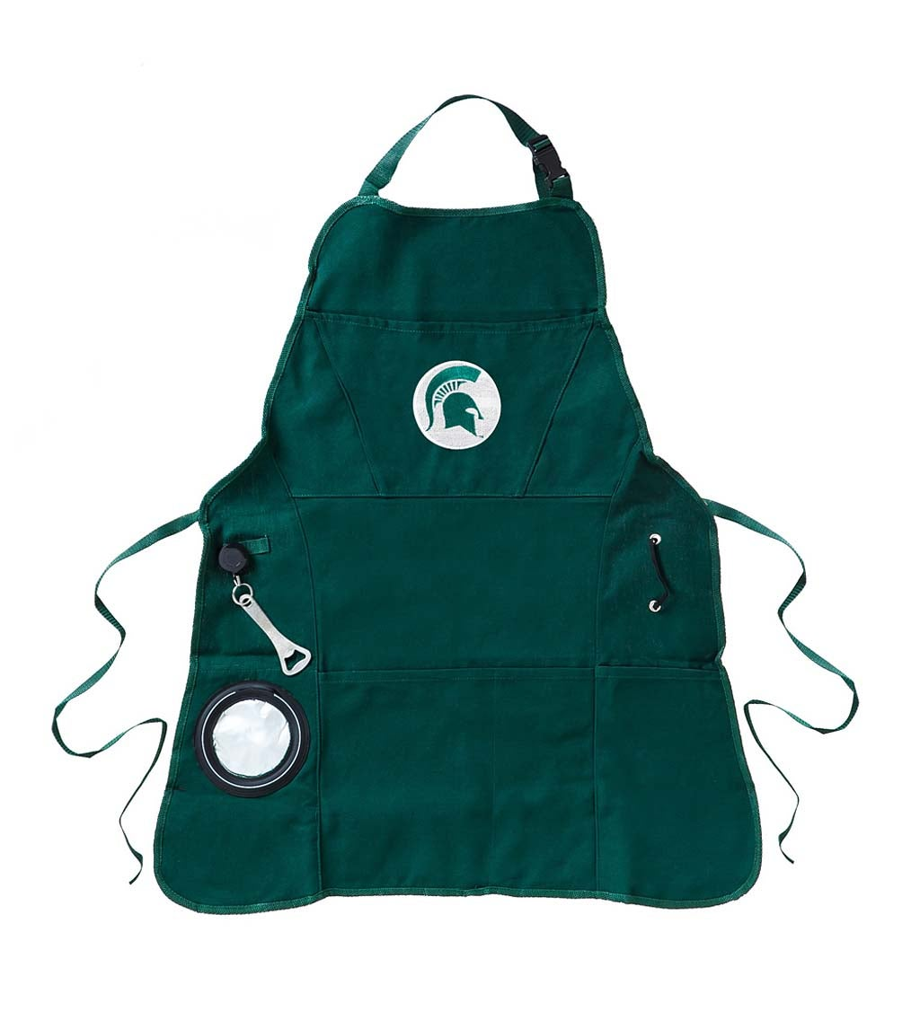 Michigan State Spartans Logo Grilling Utility Apron