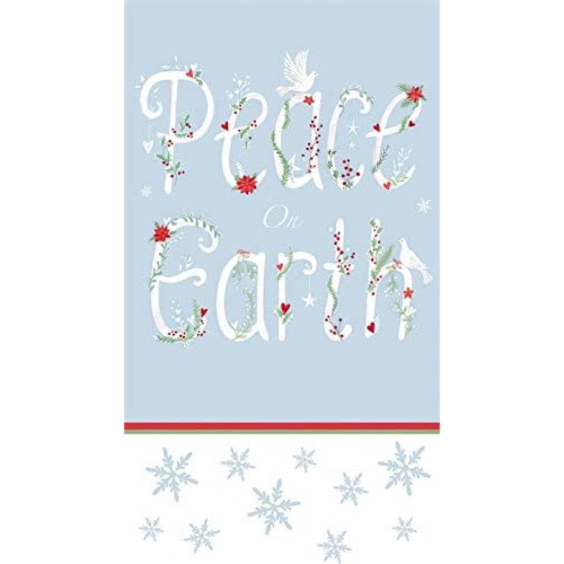 Peace on Earth Paper Guest Towels, 15 count