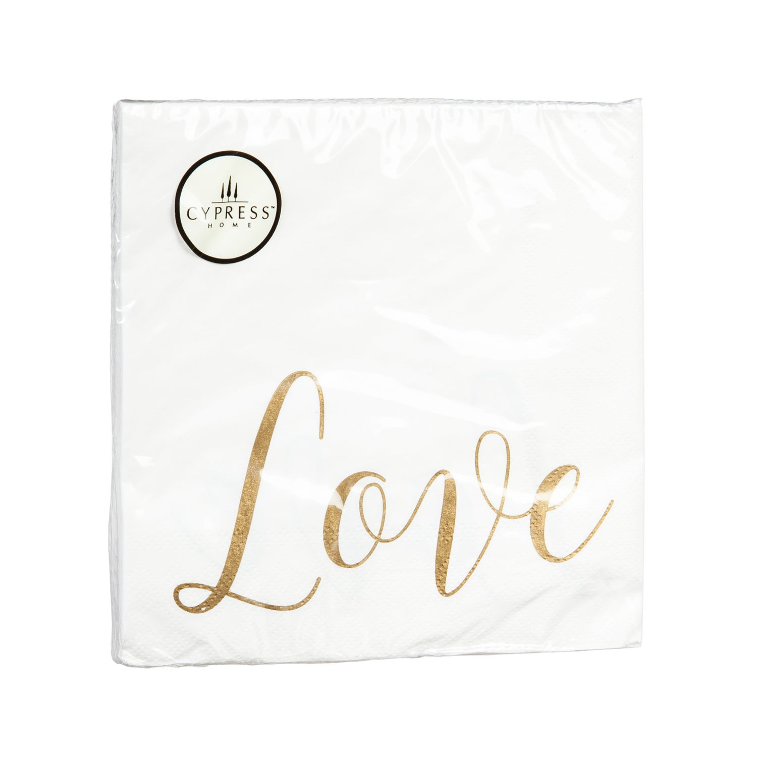 Love Paper Luncheon Napkins, 20 count