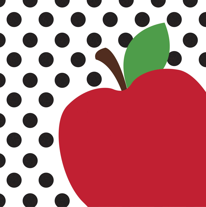 Teacher's Apple Paper Luncheon Napkins, 20 count