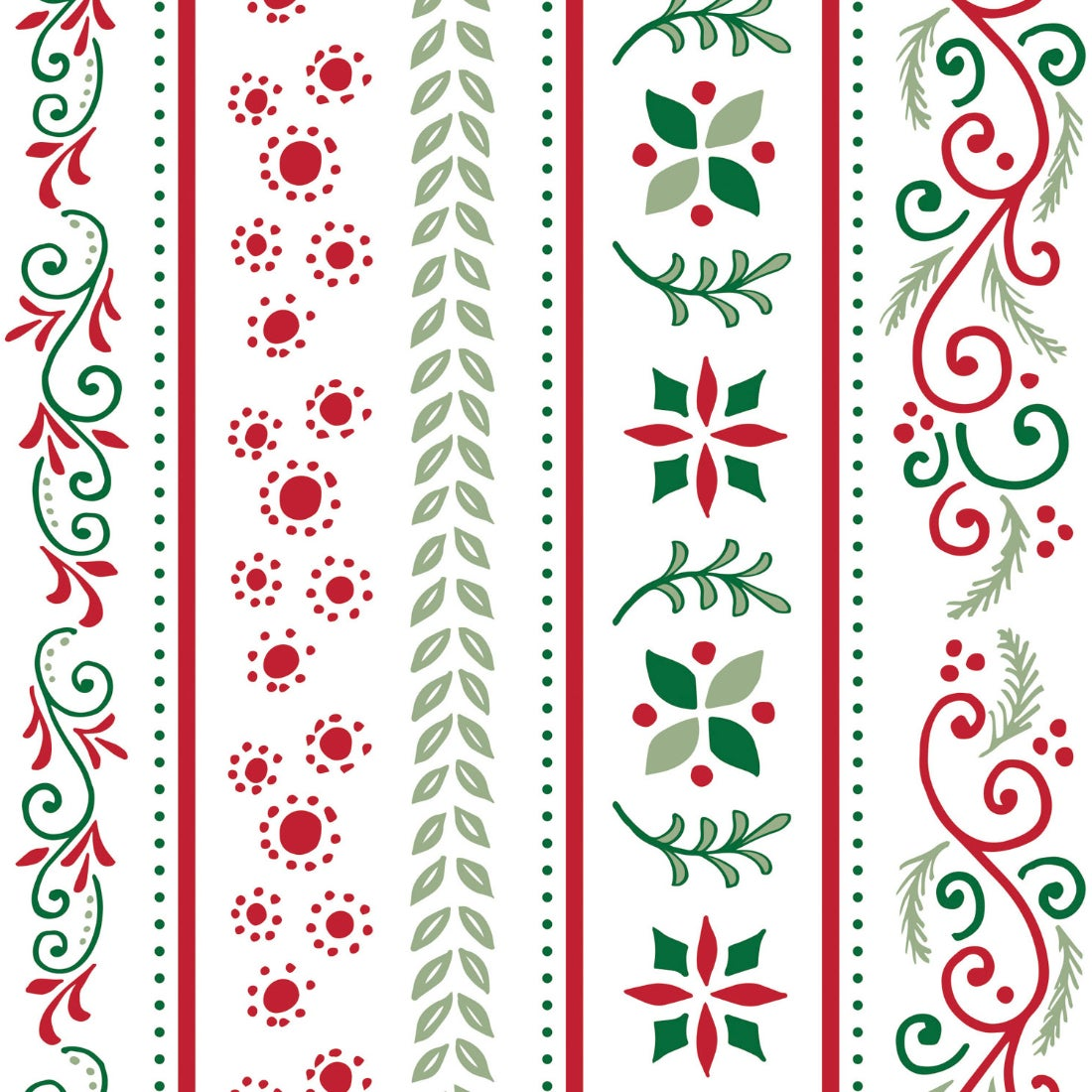 Christmas Traditions Paper Luncheon Napkins, 20 count