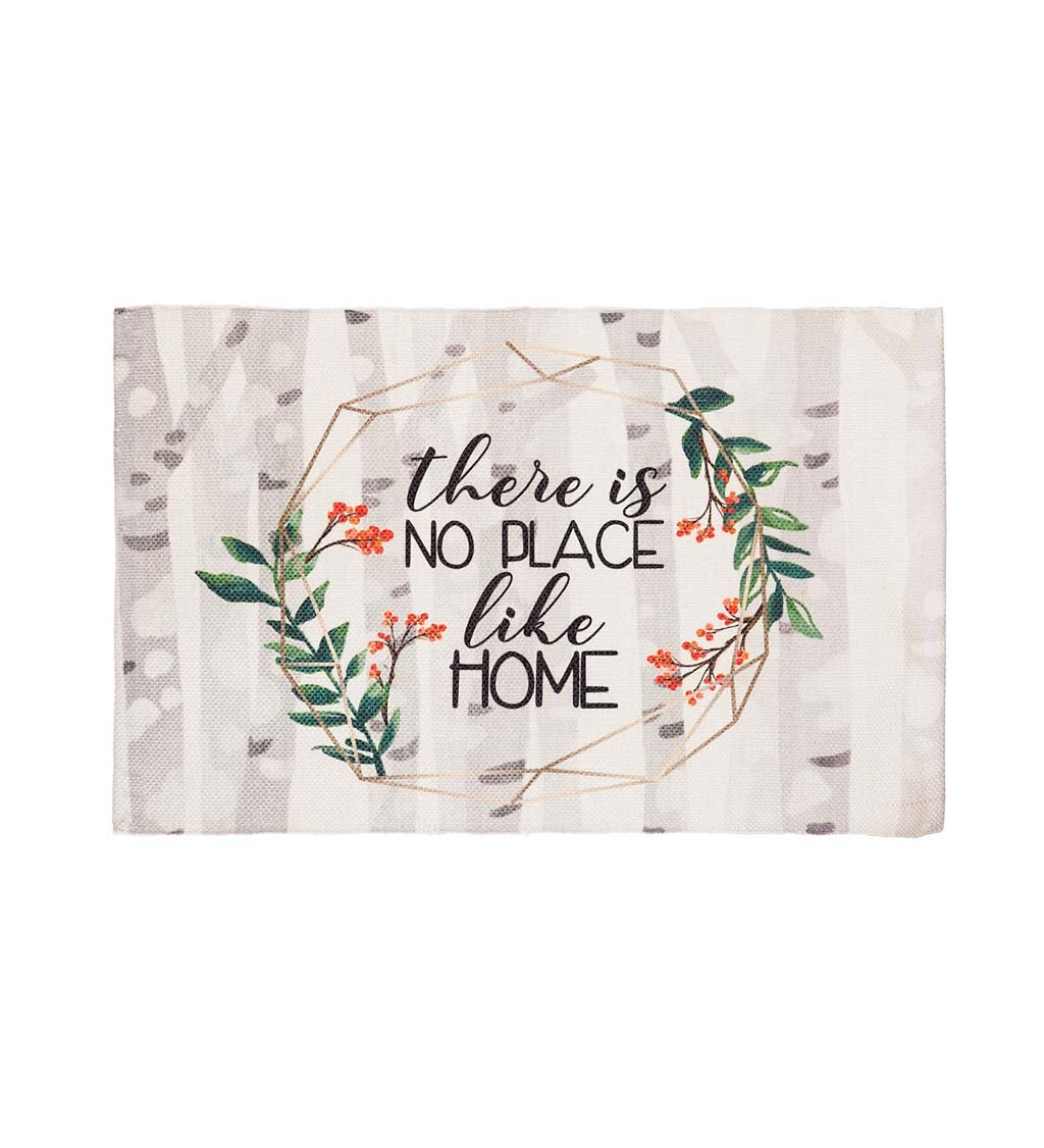 """30"""" x 20"""" No Place like Home Scatter Rug"""
