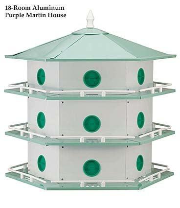 18 Room Martin House & Pole Set