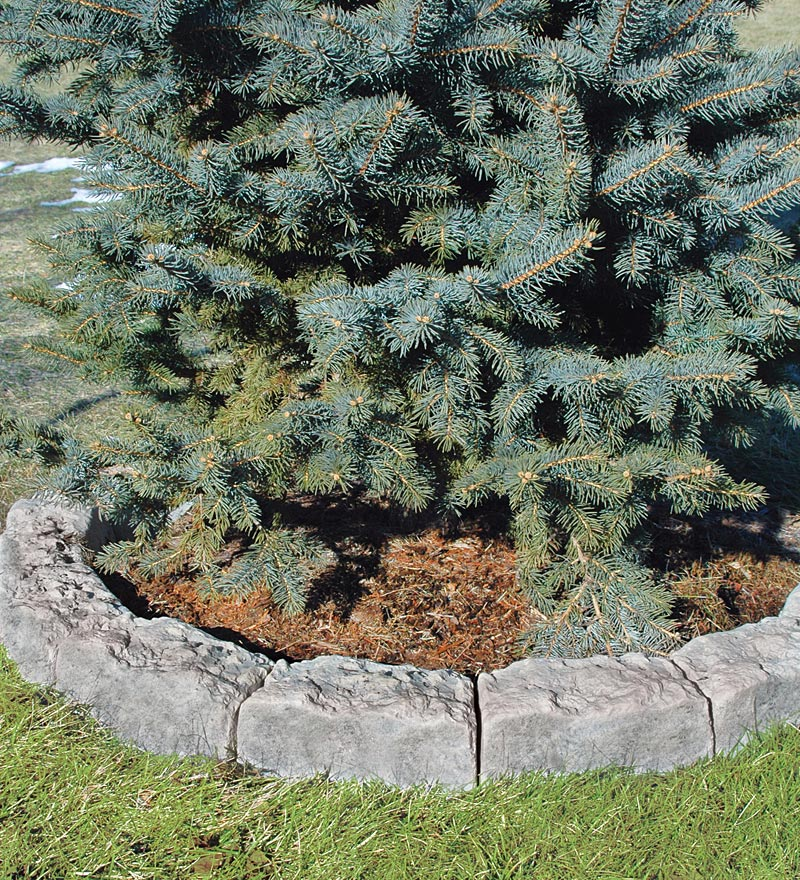Fabric Tree Ring Weed Barrier, 52