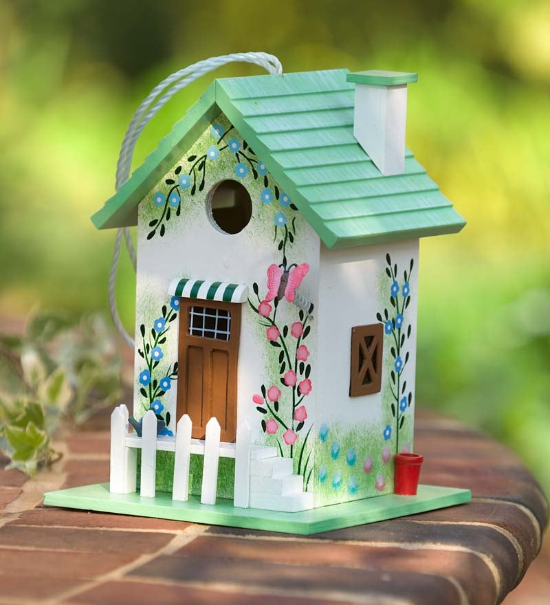 Colorful Cottage Birdhouse