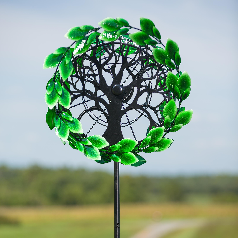 Tree of Life Garden Wind Spinner