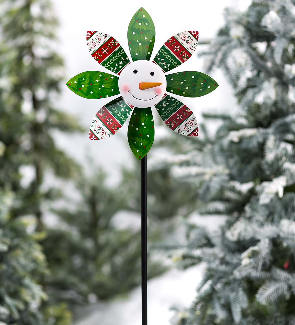 Holiday Snowman Spinner