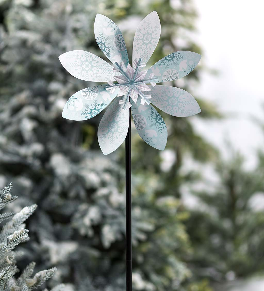 Holiday Snowflake Spinner